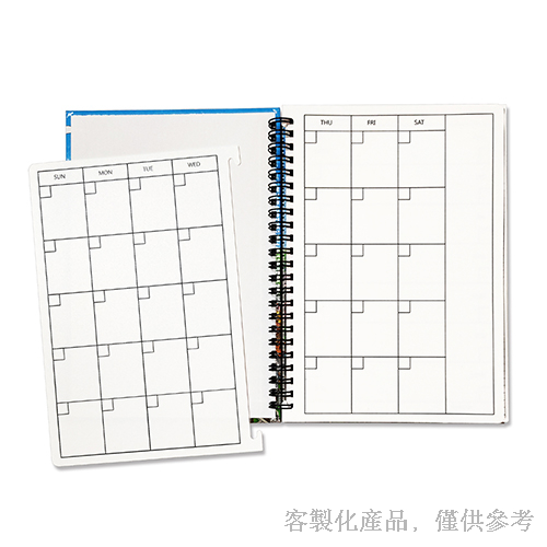 Hardcover Notebook_Customized Taiwan landmark Journal Wire-O Notebook