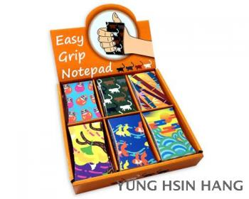 77-84M Oriental Style Easy Grip Notepad