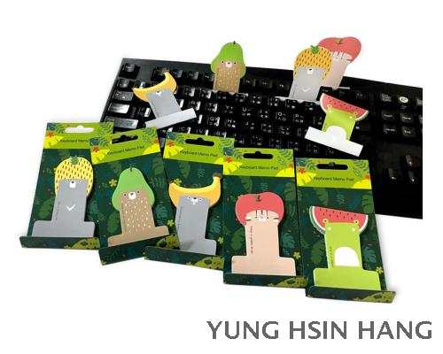 80-120KM Cute Animal Keyboard Memo Pad