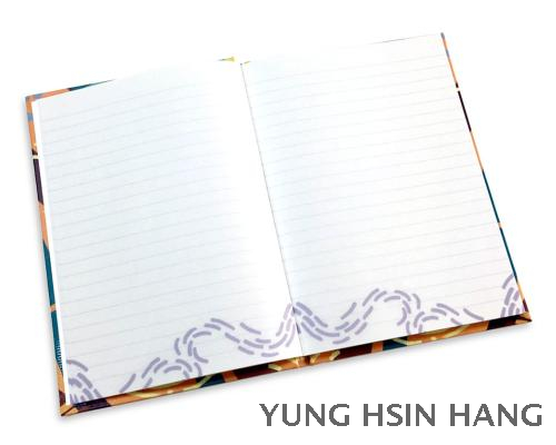77-36N Oriental Large Hardcover Notebook