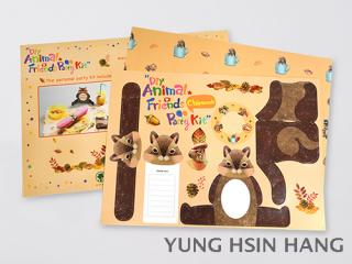 83-04PCM DIY Animal Friends Party Kit - Chipmunk